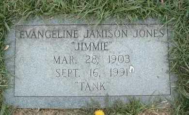 JONES, EVANGELINE JAMISON - Montgomery County, Virginia | EVANGELINE JAMISON JONES - Virginia Gravestone Photos