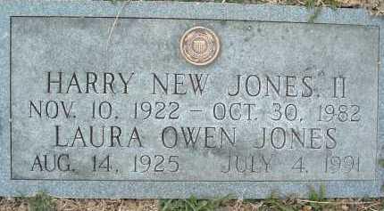 JONES, HARRY NEW II - Montgomery County, Virginia | HARRY NEW II JONES - Virginia Gravestone Photos