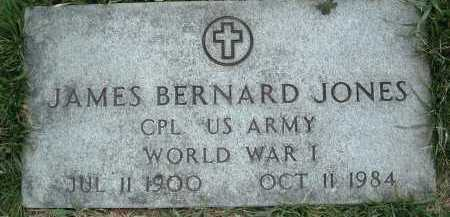 JONES, JAMES BERNARD - Montgomery County, Virginia | JAMES BERNARD JONES - Virginia Gravestone Photos