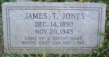 JONES, JAMES T. - Montgomery County, Virginia | JAMES T. JONES - Virginia Gravestone Photos