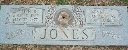 JONES, MINNIE C. - Montgomery County, Virginia | MINNIE C. JONES - Virginia Gravestone Photos
