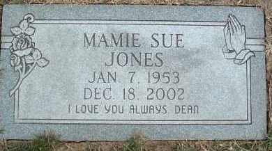 JONES, MAMIE SUE - Montgomery County, Virginia   MAMIE SUE JONES - Virginia Gravestone Photos