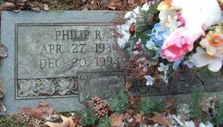 JONES, PHILLIP R. - Montgomery County, Virginia   PHILLIP R. JONES - Virginia Gravestone Photos