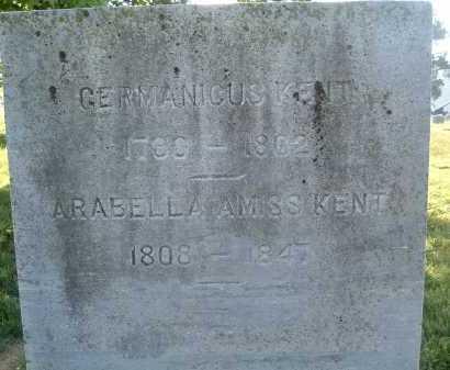 AMISS KENT, ARABELLA - Montgomery County, Virginia   ARABELLA AMISS KENT - Virginia Gravestone Photos