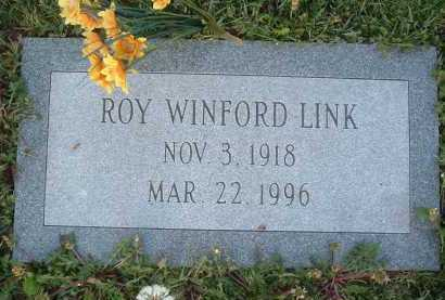 LINK, ROY WINFORD - Montgomery County, Virginia | ROY WINFORD LINK - Virginia Gravestone Photos