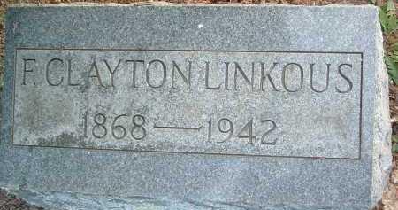 LINKOUS, F. CLAYTON - Montgomery County, Virginia | F. CLAYTON LINKOUS - Virginia Gravestone Photos