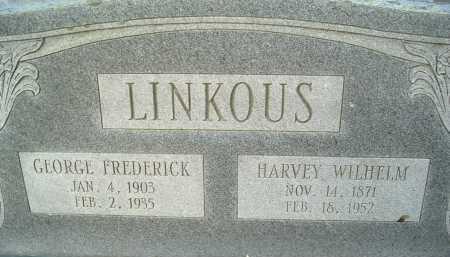 LINKOUS, HARVEY WILHELM - Montgomery County, Virginia | HARVEY WILHELM LINKOUS - Virginia Gravestone Photos