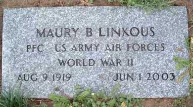 LINKOUS, MAURY B. - Montgomery County, Virginia | MAURY B. LINKOUS - Virginia Gravestone Photos