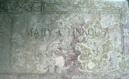 LINKOUS, MARY V. - Montgomery County, Virginia   MARY V. LINKOUS - Virginia Gravestone Photos