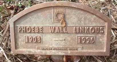 LINKOUS, PHOEBE - Montgomery County, Virginia   PHOEBE LINKOUS - Virginia Gravestone Photos