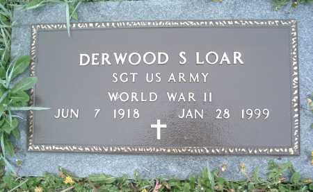 LOAR, DERWOOD S. - Montgomery County, Virginia | DERWOOD S. LOAR - Virginia Gravestone Photos