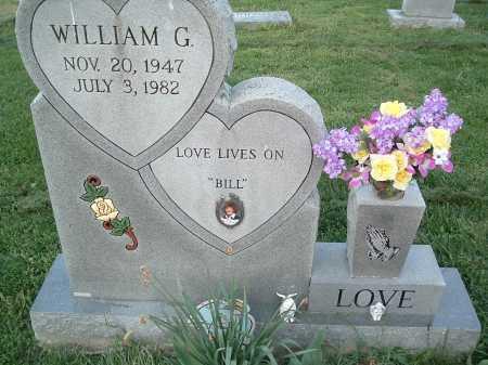 LOVE, WILLIAM G. - Montgomery County, Virginia | WILLIAM G. LOVE - Virginia Gravestone Photos
