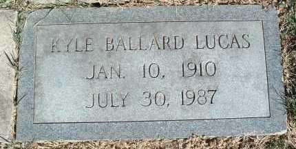 LUCAS, KYLE BALLARD - Montgomery County, Virginia | KYLE BALLARD LUCAS - Virginia Gravestone Photos
