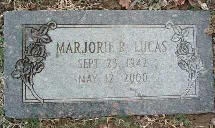 LUCAS, MARJORIE R. - Montgomery County, Virginia   MARJORIE R. LUCAS - Virginia Gravestone Photos