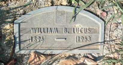 LUCAS, WILLIAM B. - Montgomery County, Virginia   WILLIAM B. LUCAS - Virginia Gravestone Photos