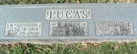 LUCAS, W. RALPH - Montgomery County, Virginia | W. RALPH LUCAS - Virginia Gravestone Photos