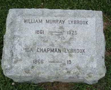 LYBROOK, WILLIAM MURRAY - Montgomery County, Virginia | WILLIAM MURRAY LYBROOK - Virginia Gravestone Photos