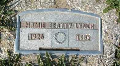 LYNCH, MAMIE BEATTY - Montgomery County, Virginia | MAMIE BEATTY LYNCH - Virginia Gravestone Photos