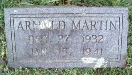 MARTIN, ARNOLD - Montgomery County, Virginia   ARNOLD MARTIN - Virginia Gravestone Photos