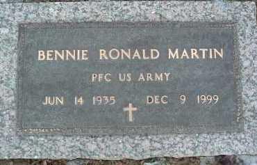 MARTIN, BENNIE RONALD - Montgomery County, Virginia | BENNIE RONALD MARTIN - Virginia Gravestone Photos