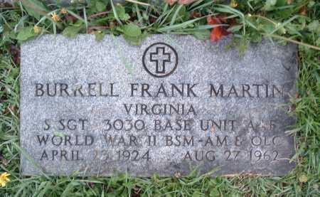 MARTIN, BURRELL FRANK - Montgomery County, Virginia | BURRELL FRANK MARTIN - Virginia Gravestone Photos