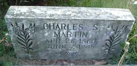 MARTIN, CHARLES S. - Montgomery County, Virginia | CHARLES S. MARTIN - Virginia Gravestone Photos