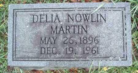 MARTIN, DELIA NOWLIN - Montgomery County, Virginia   DELIA NOWLIN MARTIN - Virginia Gravestone Photos