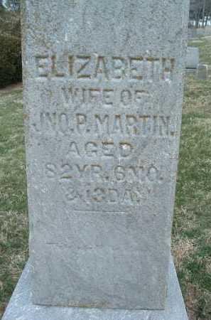 MARTIN, ELIZABETH - Montgomery County, Virginia   ELIZABETH MARTIN - Virginia Gravestone Photos