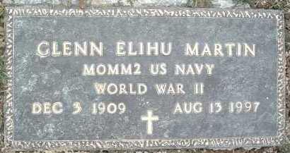 MARTIN, GLENN ELIHU - Montgomery County, Virginia   GLENN ELIHU MARTIN - Virginia Gravestone Photos