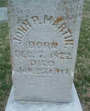 MARTIN, JOHN P. - Montgomery County, Virginia   JOHN P. MARTIN - Virginia Gravestone Photos