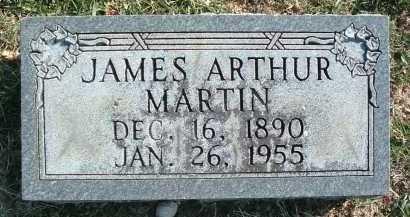 MARTIN, JAMES ARTHUR - Montgomery County, Virginia   JAMES ARTHUR MARTIN - Virginia Gravestone Photos