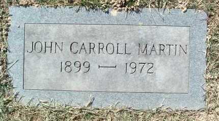 MARTIN, JOHN CARROLL - Montgomery County, Virginia   JOHN CARROLL MARTIN - Virginia Gravestone Photos