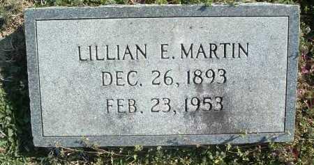 MARTIN, LILLIAN E. - Montgomery County, Virginia | LILLIAN E. MARTIN - Virginia Gravestone Photos