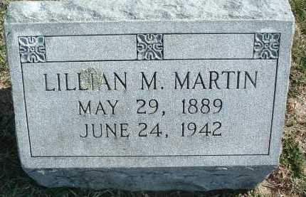 MARTIN, LILLIAN M. - Montgomery County, Virginia   LILLIAN M. MARTIN - Virginia Gravestone Photos