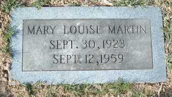 MARTIN, MARY LOUISE - Montgomery County, Virginia   MARY LOUISE MARTIN - Virginia Gravestone Photos