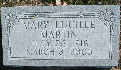 MARTIN, MARY LUCILLE - Montgomery County, Virginia | MARY LUCILLE MARTIN - Virginia Gravestone Photos
