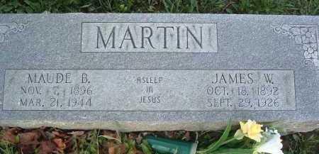 MARTIN, MAUDE B. - Montgomery County, Virginia   MAUDE B. MARTIN - Virginia Gravestone Photos