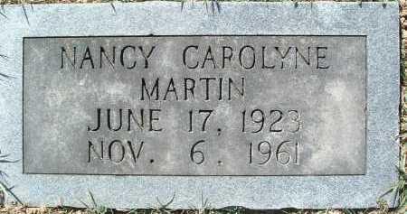 MARTIN, NANCY CAROLYNE - Montgomery County, Virginia | NANCY CAROLYNE MARTIN - Virginia Gravestone Photos