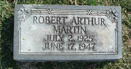MARTIN, ROBERT ARTHUR - Montgomery County, Virginia   ROBERT ARTHUR MARTIN - Virginia Gravestone Photos