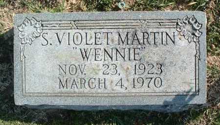 MARTIN, S. VIOLET - Montgomery County, Virginia | S. VIOLET MARTIN - Virginia Gravestone Photos