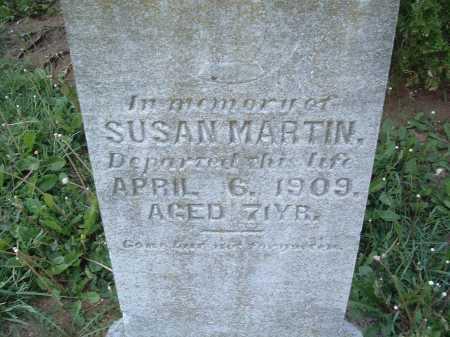 MARTIN, SUSAN - Montgomery County, Virginia   SUSAN MARTIN - Virginia Gravestone Photos