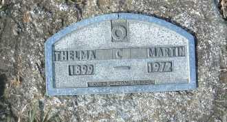 MARTIN, THELM C. - Montgomery County, Virginia | THELM C. MARTIN - Virginia Gravestone Photos