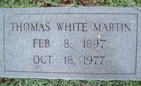 MARTIN, THOMAS WHITE - Montgomery County, Virginia   THOMAS WHITE MARTIN - Virginia Gravestone Photos