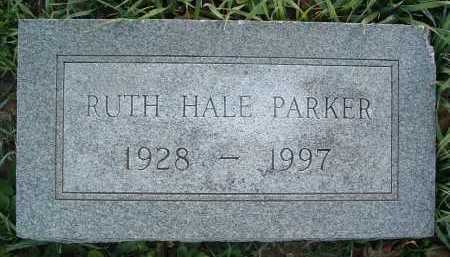 HALE PARKER, RUTH - Montgomery County, Virginia | RUTH HALE PARKER - Virginia Gravestone Photos