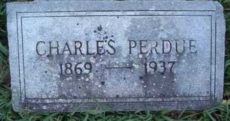 PERDUE, CHARLES - Montgomery County, Virginia   CHARLES PERDUE - Virginia Gravestone Photos