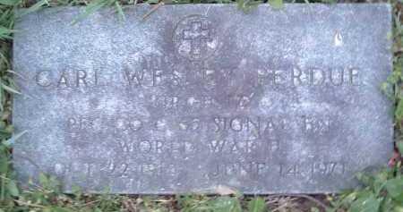 PERDUE, CARL WESLEY - Montgomery County, Virginia | CARL WESLEY PERDUE - Virginia Gravestone Photos
