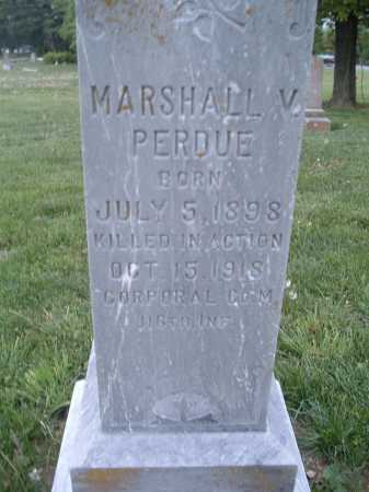 PERDUE, MARSHALL V. - Montgomery County, Virginia | MARSHALL V. PERDUE - Virginia Gravestone Photos