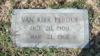 PERDUE, VAN KIRK - Montgomery County, Virginia | VAN KIRK PERDUE - Virginia Gravestone Photos