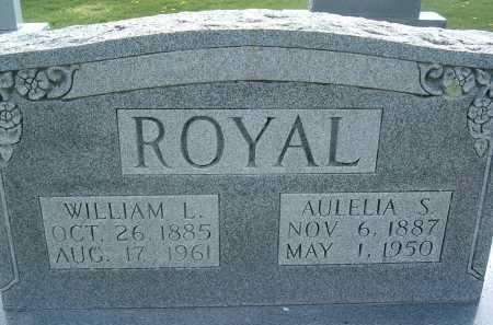 ROYAL, AULELIA S. - Montgomery County, Virginia | AULELIA S. ROYAL - Virginia Gravestone Photos