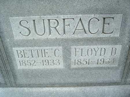 SURFACE, BETTIE C. - Montgomery County, Virginia | BETTIE C. SURFACE - Virginia Gravestone Photos